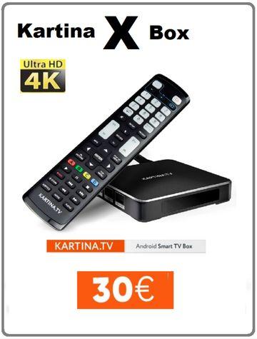 KARTINA TV über 150 russische Sender in Full HD, HD und SD